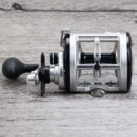 12+1BB Drum Saltwater Fishing Reel Centrifugal Brake System Baitcasting Fishing Reels Bait Casting Right Hand Surfcasting Reel