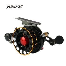 FBE 50/60 size 4+1BB fly fishing reel Full Metal Saltwater fly fishing molinete Ice Trolling baitcasting Reels Right Left Hand