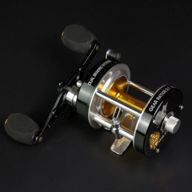 Multiplier Fishing Reels 7+1 BB Full Metal Trolling Reel for Saltwater Sea Fishing Reel Bass Fishing Baitcasting Reel Drum Wheel