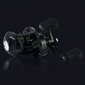 WALK FISH Ratio 7.1:1 Magnetic Brake System 17+1BB Lure Fishing Reel for Saltwater Fishing Wheel 7kg Drag Power Baitcasting Reel